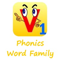 "Our new updated iPad app ""Phonics Word Family"" is out today"