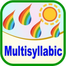Multisyllabic for Speech Therapy, Autism, and Special Needs education Released by Abitalk on Apple, Amazon, and Barns & Noble Stores.