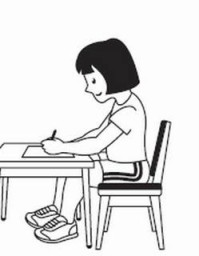 Take a seat – how your chair affects handwriting.